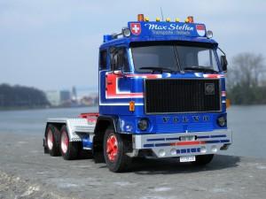 Entstehung Modell Volvo F89 Claudio Herzog