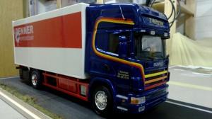 Entstehung Scania Denner Modell von Roger Kobel